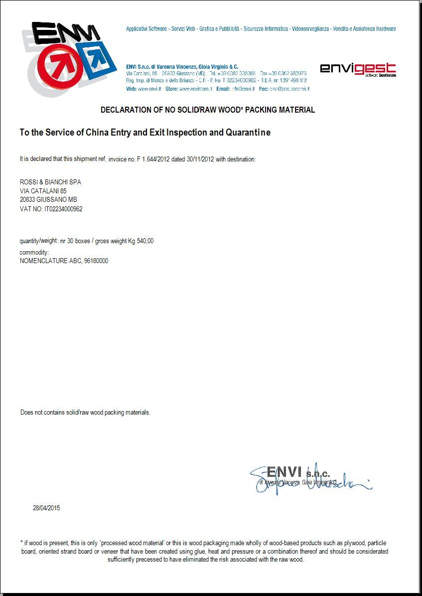 stampa documenti accompagnamento fatture